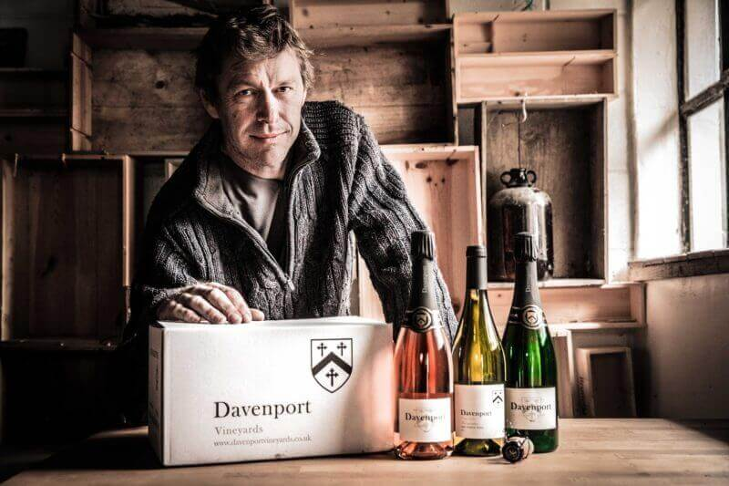Why Will Davenport chooses Swindells as his accountants (accounting for vineyards)