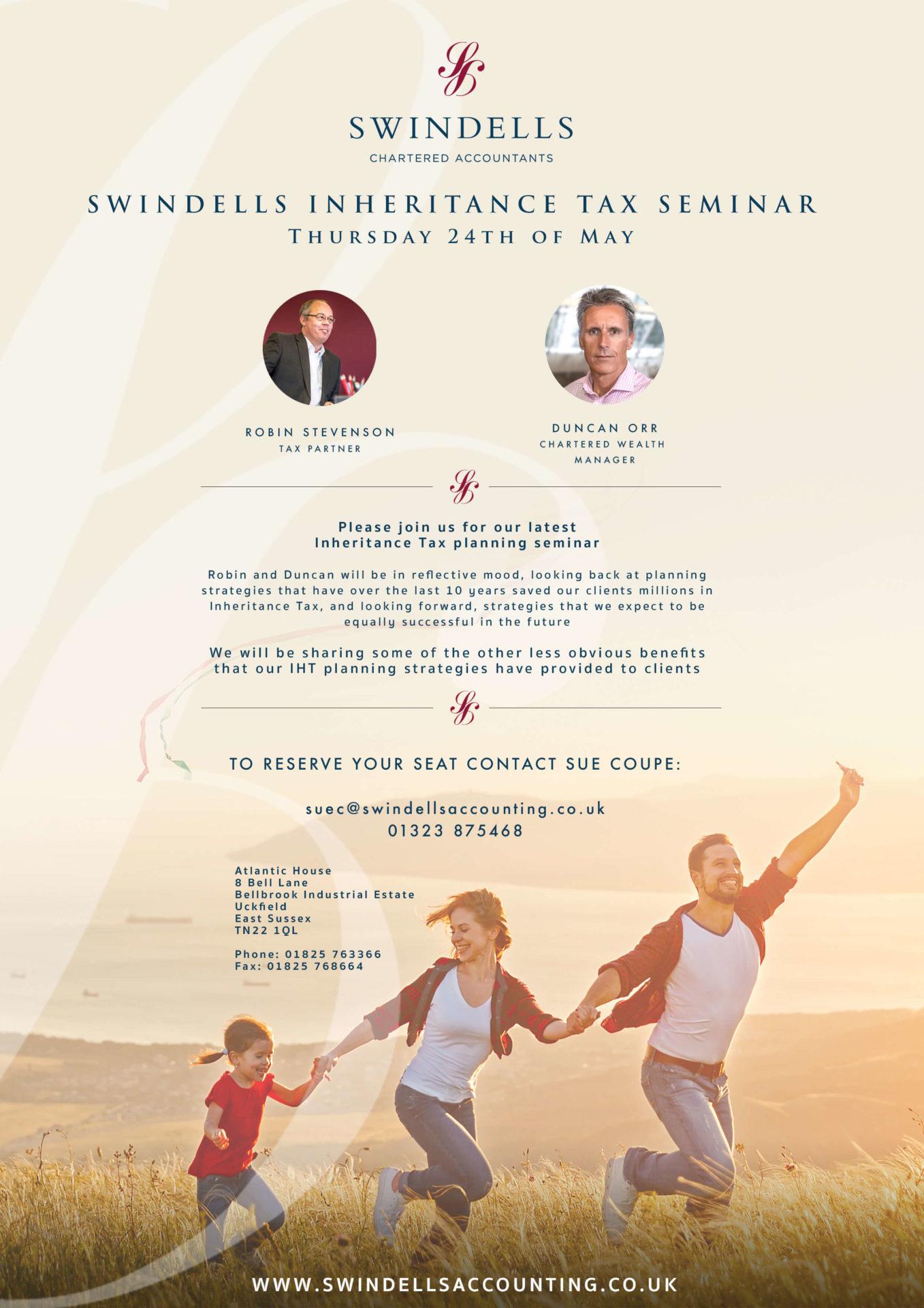 Inheritance tax swindells east sussex tax