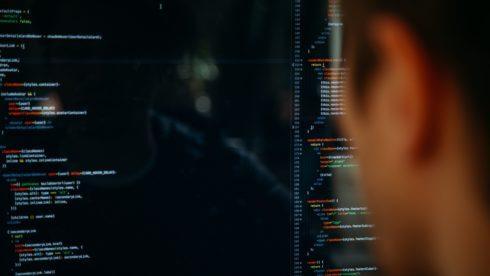 Man looking at computer screen GDPR swindells east sussex tax