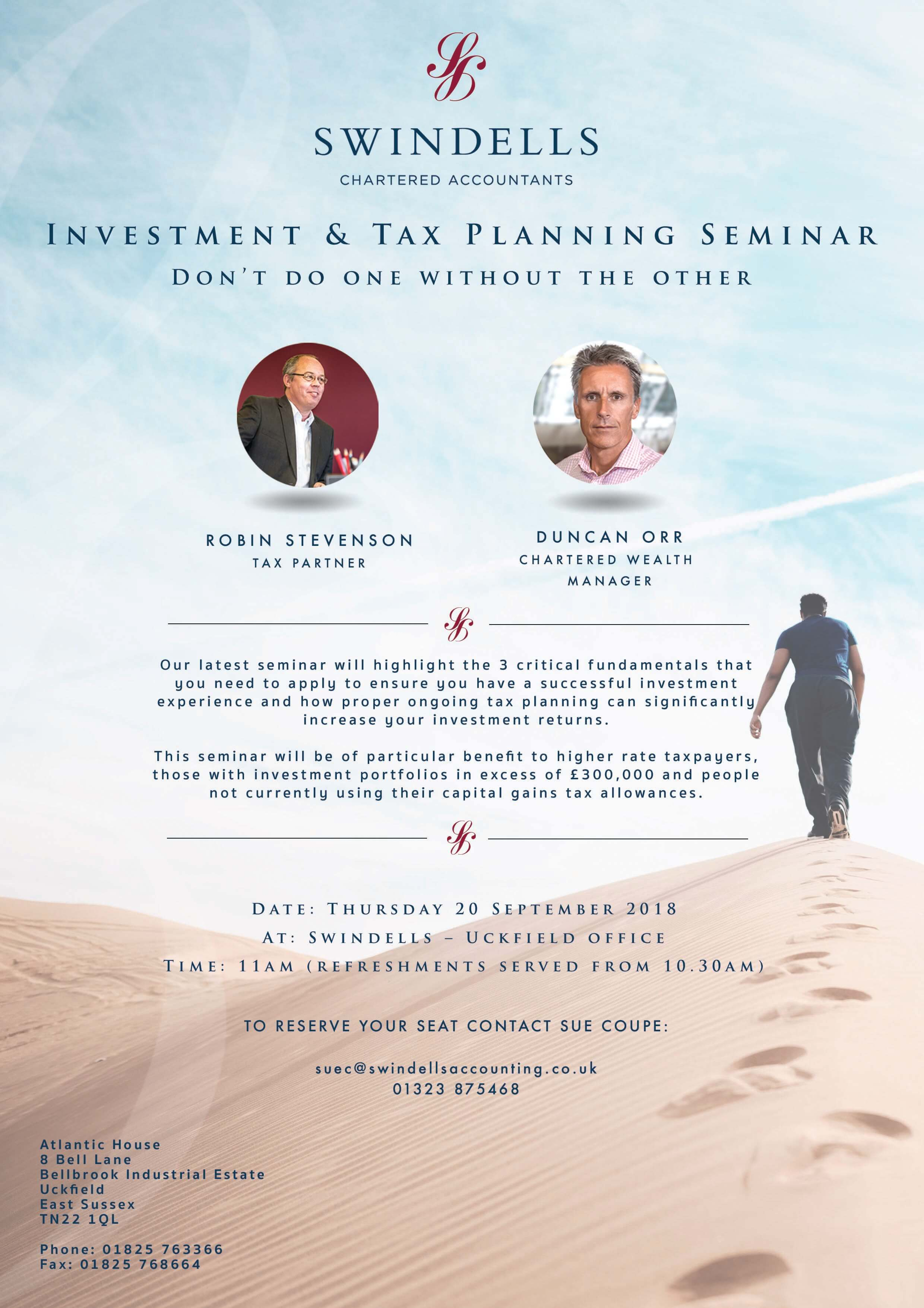 Swindells Investment seminar